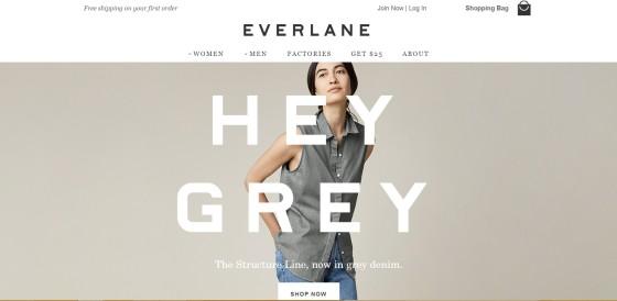 Everlane.com its online store